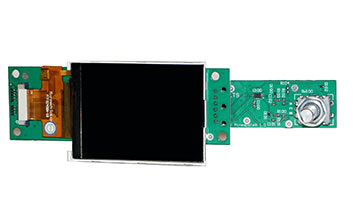 LCD with Interface pcb