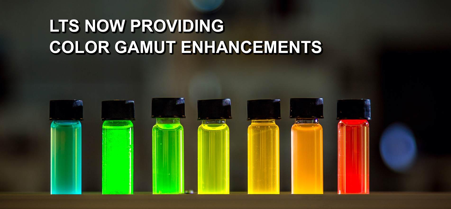 color gamut enhancements